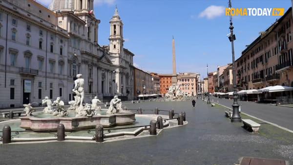 VIDEO | Il silenzio assordante di Roma in quarantena ai tempi del Coronavirus