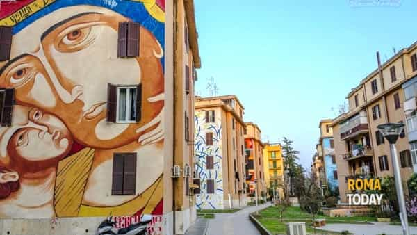 La street art a Tor Marancia, visita guidata