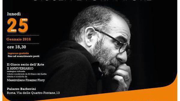 """Giuseppe Tornatore ospite de """"Il grande gioco dell'Arte"""""""