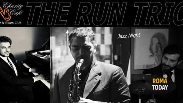 The Run Trio in concerto al Charity Café