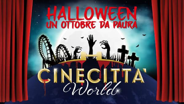Halloween a Cinecittà World, un mese di brividi per la festa più paurosa dell'anno