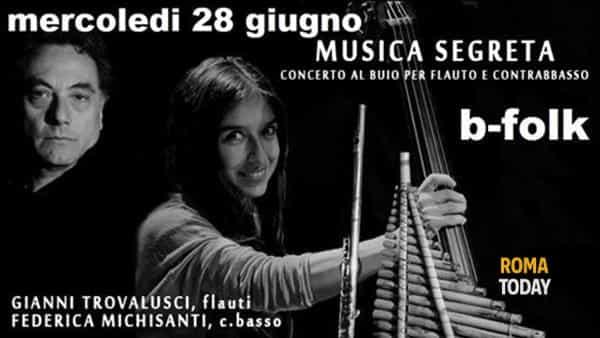 Musica Segreta in concerto al B-Folk: Federica Michisanti e Gianni Trovalusci