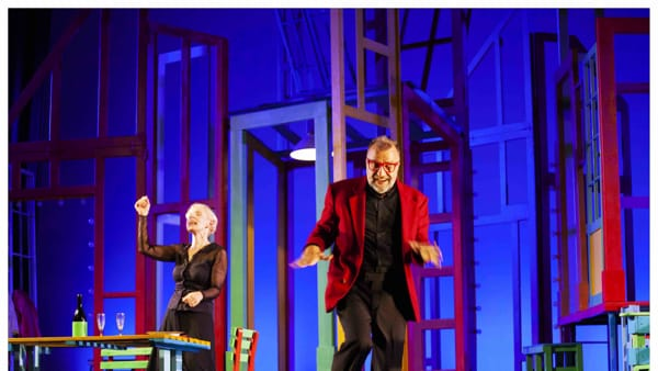 Alle 5 da me, Gaia De Laurentiis e Ugo Dighero al Teatro Golden