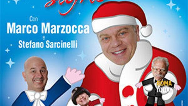 """Capodanno: Marco Marzocca al Teatro Italia in """"Buon Natale signo'"""""""