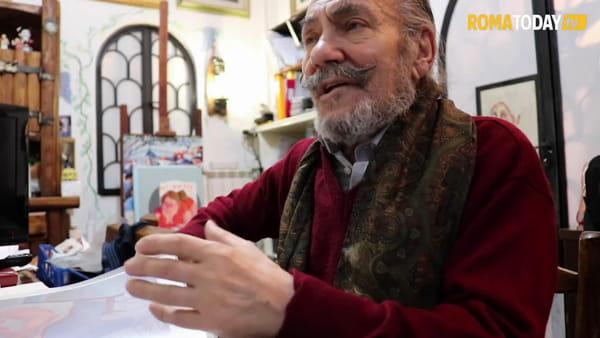 Gianprovvè e la sua piazza Navona, dopo 50 anni di ritratti e dipinti resta fuori dalla graduatoria