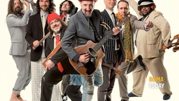 Il folk rock della Bandabardò a Roma incontra il Mondo