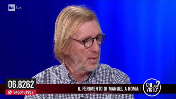 Franco Bortuzzo a Chi l'ha visto, la lezione di vita del papà di Manuel