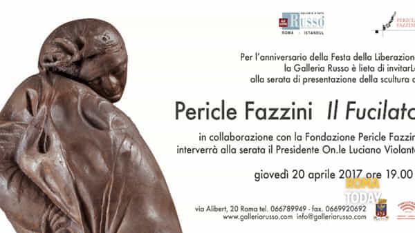 A Roma il dramma del partigiano fucilato nell'opera di Fazzini