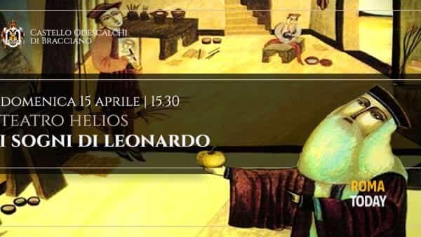 """""""I Sogni di Leonardo"""": speciale itinerario storico al Castello di Bracciano"""