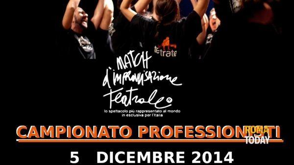 Match di improvvisazione teatrale a Roma