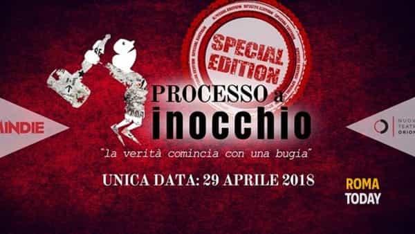 """""""Processo a Pinocchio"""" al Teatro Orione"""