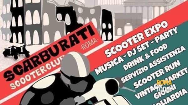 1° raduno Scarburati Scooter Club Roma