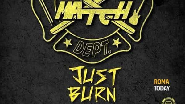 "The match, ""Just burn tour"""