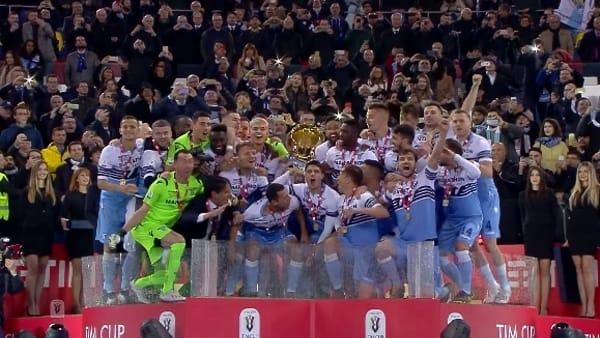 VIDEO | Atalanta-Lazio 0-2: festa biancoceleste. Gol e highlights della finale di Coppa Italia