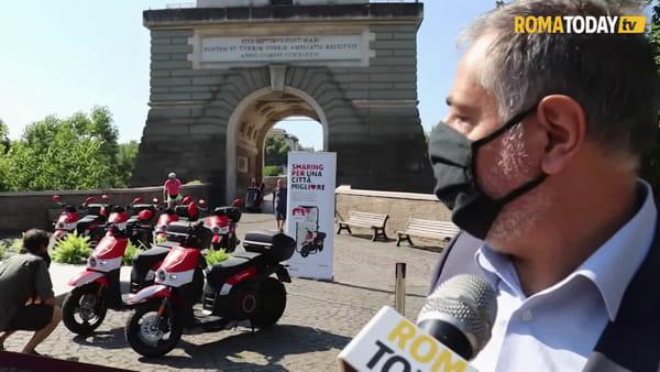 Lo scooter sharing si rafforza: a Roma arriva Acciona con 500 nuovi mezzi. La presentazione