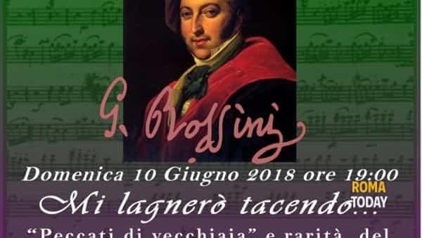"""Mi lagnerò tacendo - """"Peccati di vecchiaia"""" e rarità del """"Cigno di Pesaro"""""""