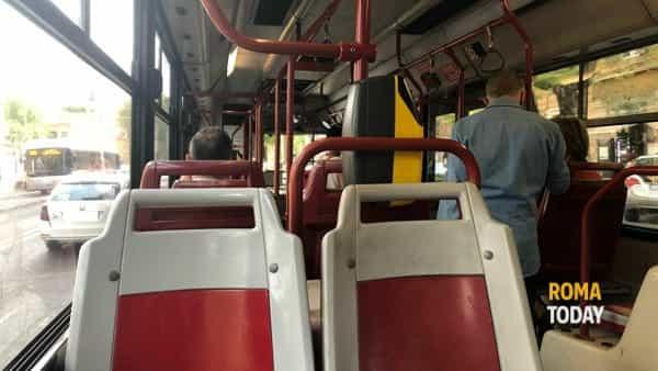 Panico a bordo del 916: armato di martello danneggia bus e ferisce due ragazzini