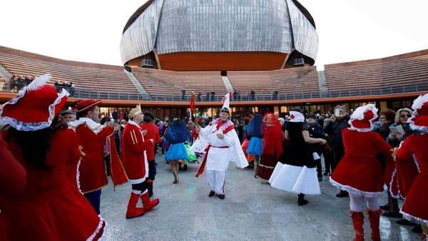 La Tarantella del Carnevale all'Auditorium Parco della Musica