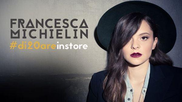Francesca Michielin a Roma: mini live e firmacopie