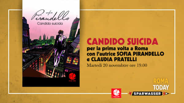 Sofia Pirandello presenta il suo Candido Suicida allo Sparwasser