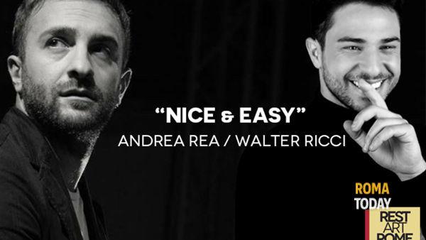 Rest Art in Jazz, Walter Ricci ed Andea Rea