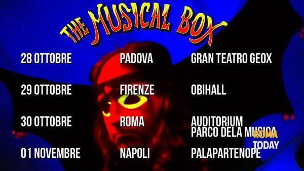 Viaggio nel tempo con The Musical Box in concerto a Roma