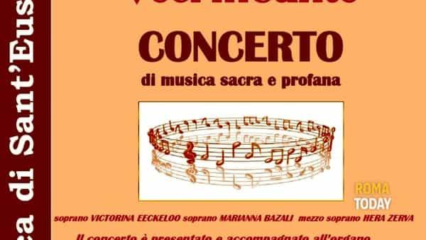 """Concerto """"Voci inCanto"""" con il Maestro Paolo Tagliaferri"""