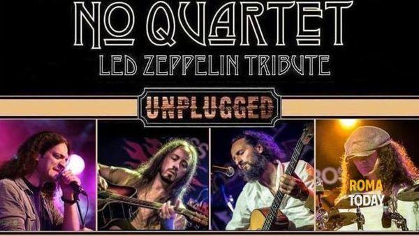 Led Zeppelin tribute: No Quartet in chiave acustica al Teatro Elsa Morante
