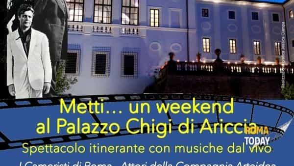 Metti…un weekend al Palazzo Chigi di Ariccia