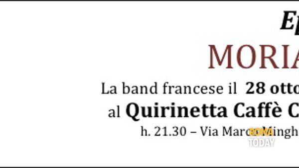 Moriarty in concerto al Quirinetta Caffè