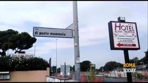 VIDEO | Cadavere a Ponte Mammolo, il luogo dove è stato trovato il corpo