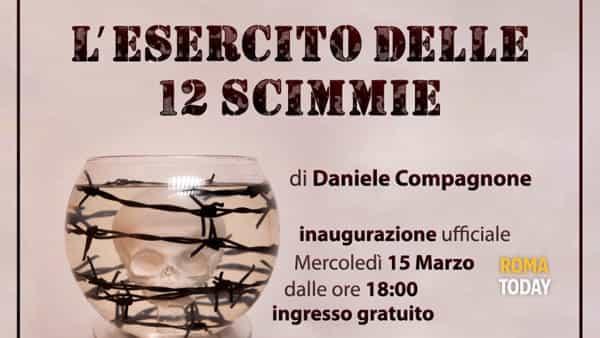 """Galleria Moderni: """"L'esercito delle 12 scimmie"""" di Daniele Compagnone in mostra"""