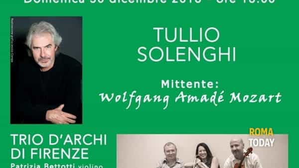 Tullio Solenghi a Palazzo Chigi dagli Sfaccendati