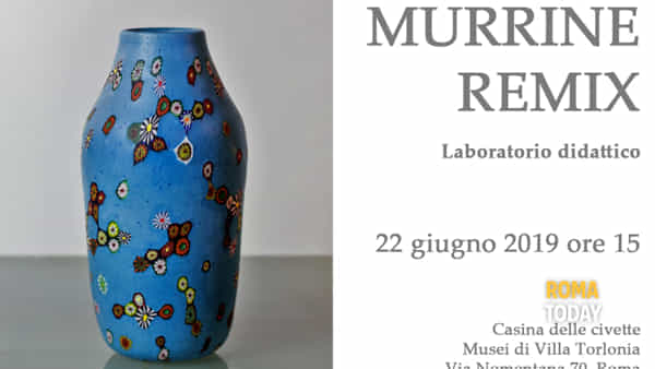 Murrine Remix, laboratorio per bambini