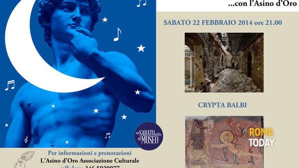 Una notte al Museo… con L'Asino d'Oro: Crypta Balbi