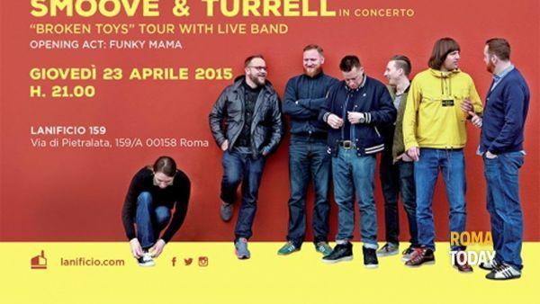 SMOOVE & TURRELL in concerto a Lanificio 159