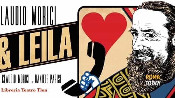 Lui e Leila. Reading con Claudio Morici @Libreria Teatro Tlon