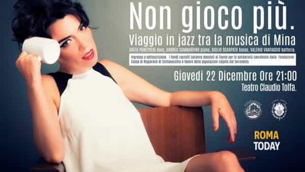 Greta Panettieri in concerto al Teatro Claudio di Tolfa