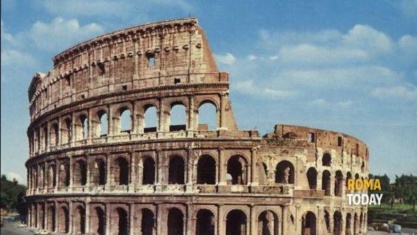 Transito di Mercurio sul sole al Parco Archeologico del Colosseo