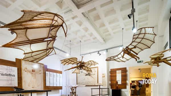Nuove installazioni alla Mostra di Leonardo a Palazzo della Cancelleria
