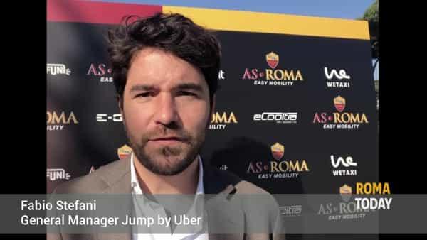 VIDEO | Come andare allo stadio Olimpico con Jump by Uber