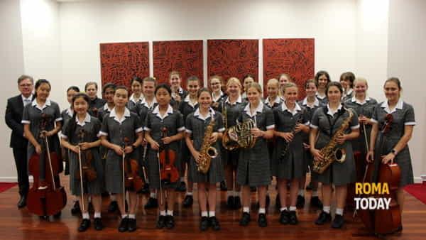 Concerto a S. Eustachio con l'orchestra e il coro della Kambala Girls' School