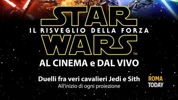 Star Wars sotto le stelle al Cinema e dal Vivo