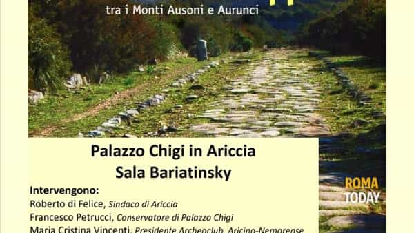 """Per la Via Appia, tra i Monti Ausoni e Aurunci"""