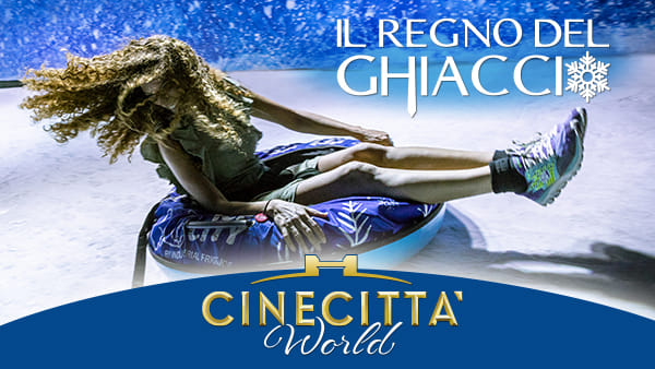 """A Roma nevica tutti i giorni! Al Parco Cinecittà World apre """"Il Regno del Ghiaccio"""""""