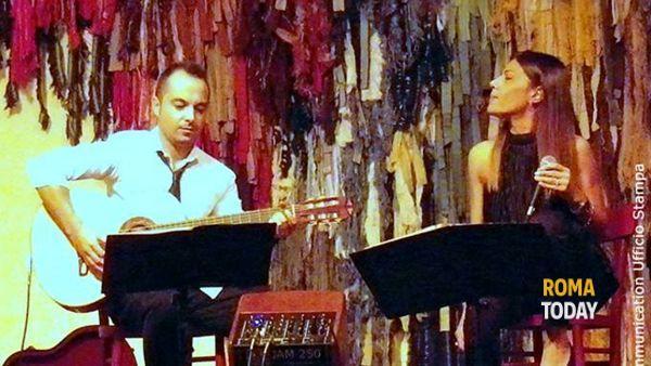 Chiara Jerì & Andrea Barsali Duo live @ Enoteca Letteraria