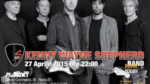 Kenny Wayne Shepherd Band in concerto