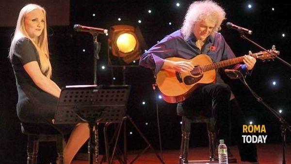 Brian May & Kerry Ellis: One Voice a Roma