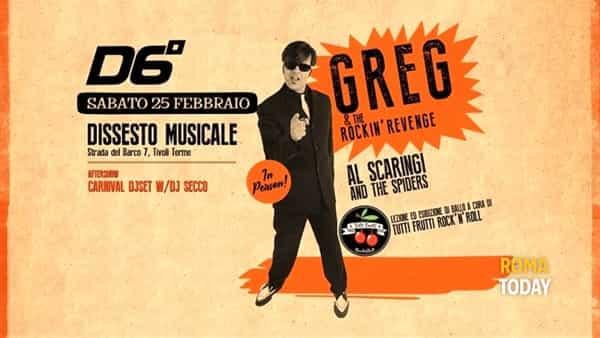 La vendetta rock'n'roll di Greg al Dissesto Musicale