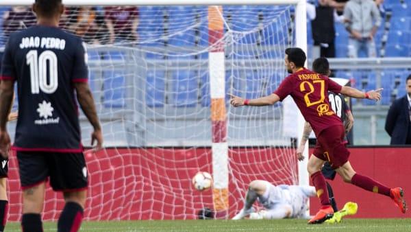 Roma-Cagliari 3-0 tabellino pagelle voti fantacalcio 27 ...